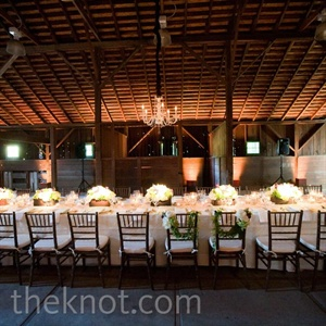 Ivory Reception Décor