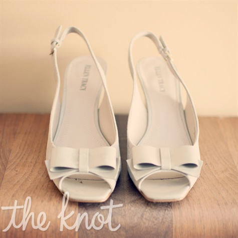 Off-White Bridal Shoes