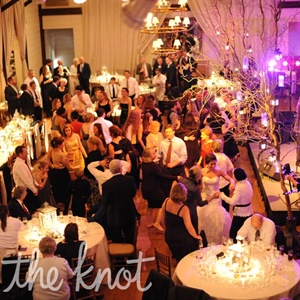 Guests mingled and danced to a live reception band.