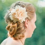 Champagne Hair Flower