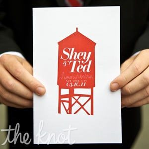 Water Tower Save-the-Dates