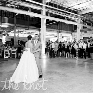 """That's How Strong Our Love Is"" by Otis Redding was the couple's first dance song."