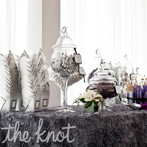 Silver candy bar - The Knot