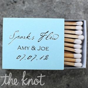 Blue Wedding Matches