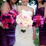 Pink an Purple Rose Bouquets