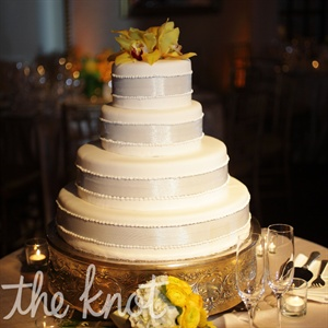 Tiered Fondant Wedding Cake