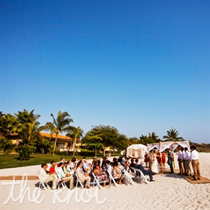 Beachfront Ceremony at the St. Regis Punta Mita, Mexico