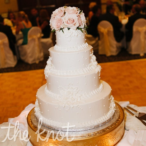 Ivory Buttercream Cake