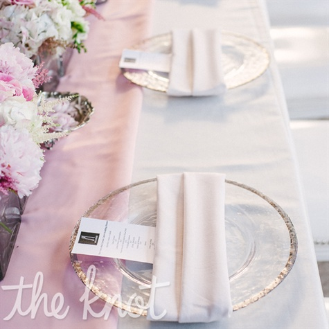 Romantic Place Settings
