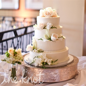Four-Tiered Buttercream Cake