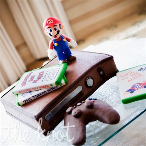Video Game-Themed Groom's Cake
