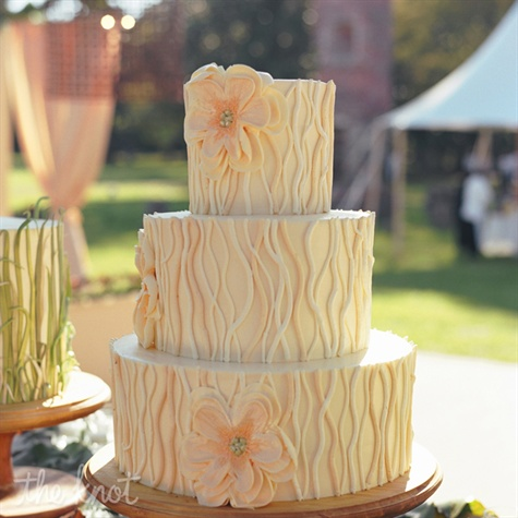 Three Layer Wedding Cake
