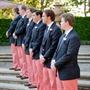 Coral Groomsmen Formalwear