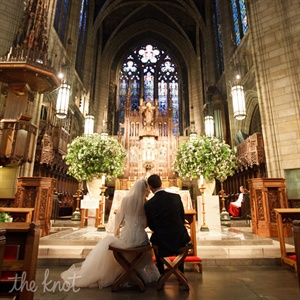 Ceremony Site:  The Church of  Saint Vincent Ferrer, New York City 