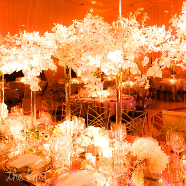 "What made the event so great,"" says Zabinski, ""was this mixture of highs and lows, old with new—like modern banquettes paired with classic chandeliers."""