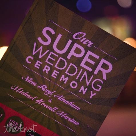Superhero Wedding Invitations is an amazing ideas you had to choose for invitation design