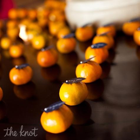 Clementine Escort Cards