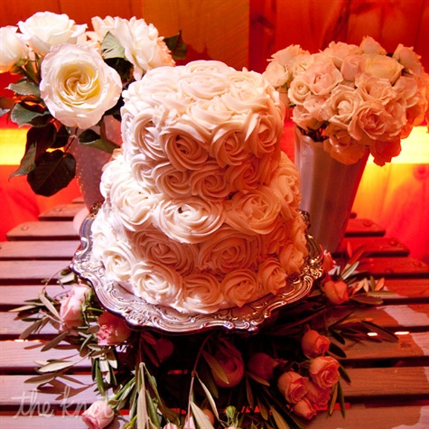 Buttercream Rose Cake