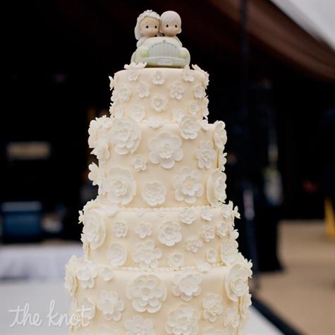 Mini Fondant Flower Cake