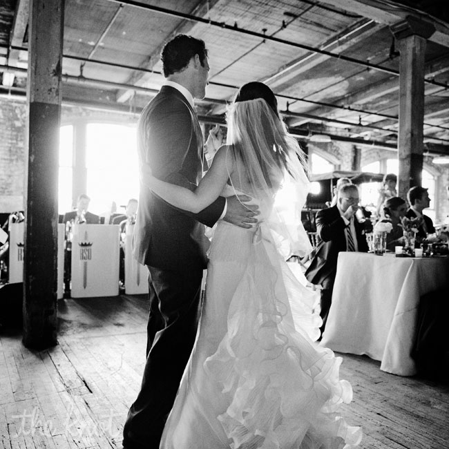 "For their first dance, the couple chose ""Just The Way You Are"" by Billy Joel."