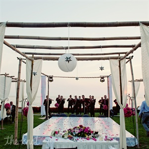 The 12 piece mariachi band that performed at the reception was a wedding gift.