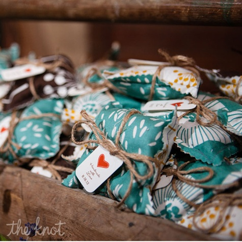 Balsam Pine Sachet Wedding Favors