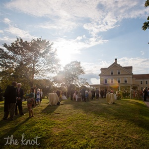 Outdoor Reception at Laudholm Farm