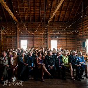 Intimate Barnyard Ceremony at Laudholm Farm