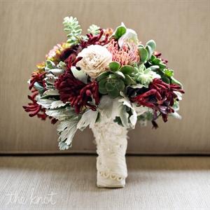 Lush Fern Winter Bouquet