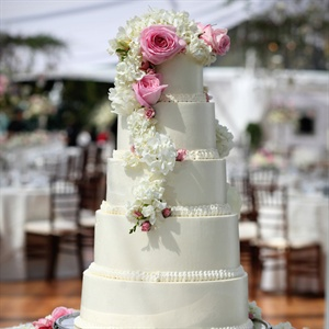 Five-Tier Buttercream Cake