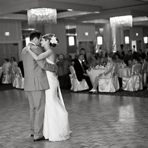 "The couple danced to ""Your Love is a Song"" by Switchfoot."