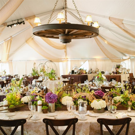 Tented Western Reception
