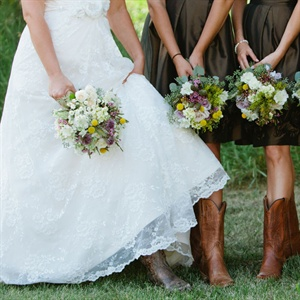 Rustic Wildflower Bouquets