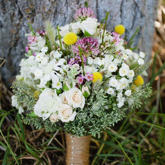 Wild Flower Wedding Bouquet: 301 Moved Permanently