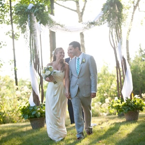 CEREMONY & RECEPTION SITE – Groom's family summer home, Fish Creek, WI