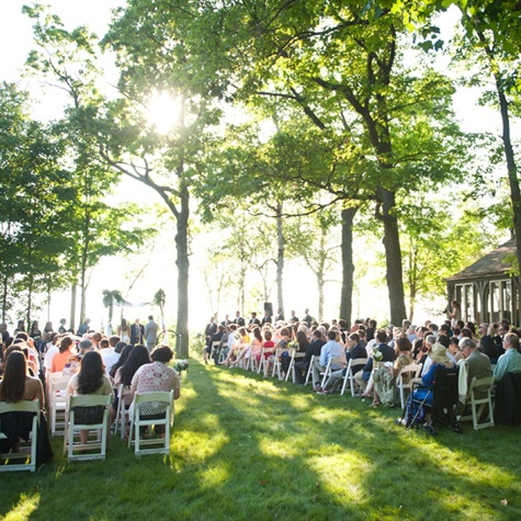 Outdoor Lakeside Ceremony