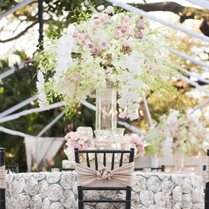 High Romantic Centerpieces