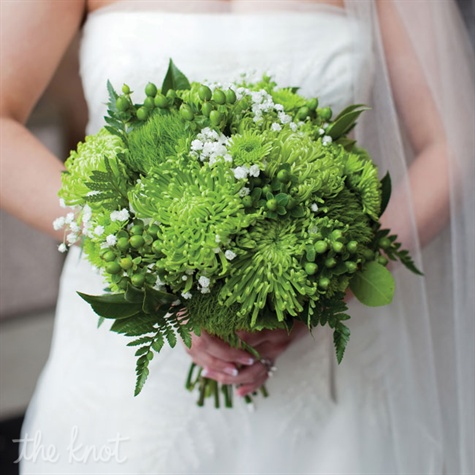 Fresh Green Bouquet