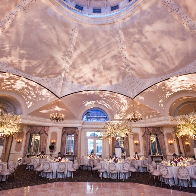 "After considering a variety of venues in their home state, the pair chose the château for its ""phenomenal grounds and breathtaking octagonal ballroom."""