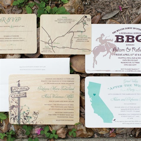 Ranch-themed Invitations