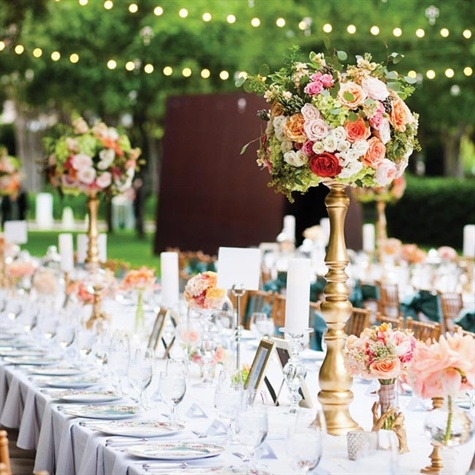 Towering Centerpieces