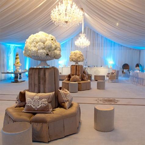 Winter Wonderland Lounge Space