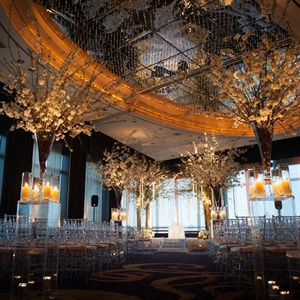 Guests were treated to a spectacular view of Central Park