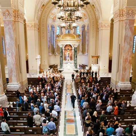 Ceremony at Cathedral of St. Joseph