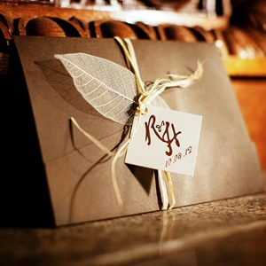 Brown Rustic Invitations