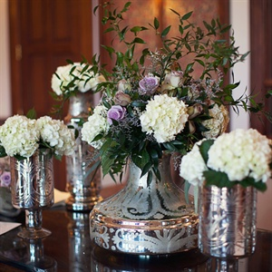 English Garden Centerpieces