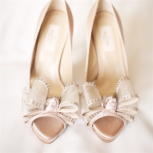 Blush-colored Shoes