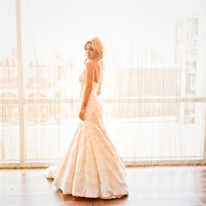 Elegant Lazaro Wedding Dress