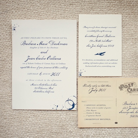 Vintage-Style Wedding Invitations