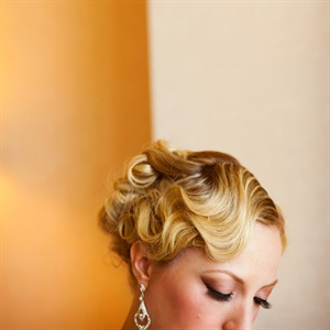 Vintage Wedding Updo